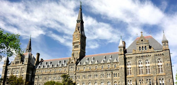 Georgetown University, which offers several social entrepreneurship programs.